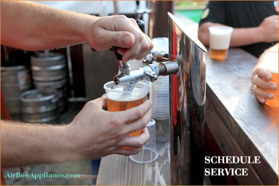 commercial beer coolers and kegerators repair restaurants bars