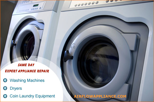 Washer and dryer repair service household and commercial los angeles orange ventura san - Common washing machine problems ...